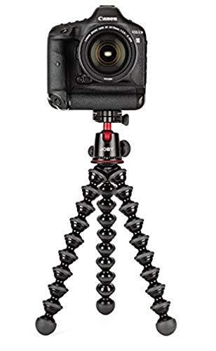 JOBY GorillaPod 5K Kit. Professional Tripod 5K Stand and Ballhead 5K for DSLR Cameras or Mirrorless Camera with Lens up to 5K...