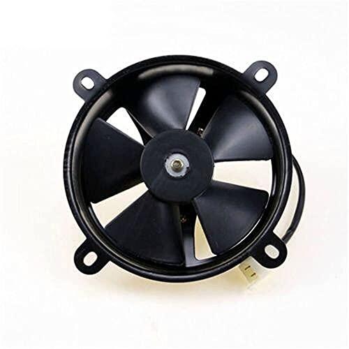 SZHSM Moto Elettriche Ventola di Raffreddamento del condizionatore d'Aria Fan 6' 12v radiatore del Motore raffreddato ad Acqua del motorino della Bici del radiatore dell'olio (Colore: Nero)