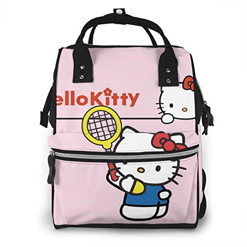Diaper Bag Backpack - Hello Kitty Multifunction Waterproof Travel Backpack Maternity Nappy Changing Bags