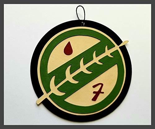 Mandalorian Crest Ornament | Star Wars | Disney Geek | Disney Christmas | Disney Gift | Last Skywalker | Auto Accessory | Original Trilogy