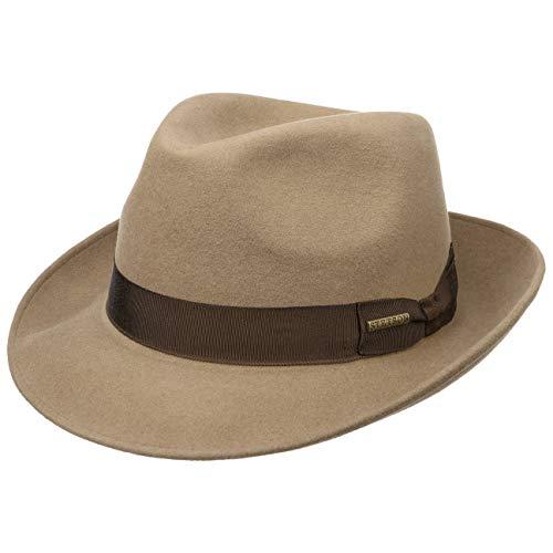 Stetson Bogart Fieltro de Pelo Rossford Mujer/Hombre - Sombrero Fedora