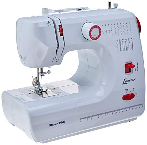 Máquina De Costura Master Pro, Lenoxx Psm103, Branco, Lenoxx, Psm103, Branco