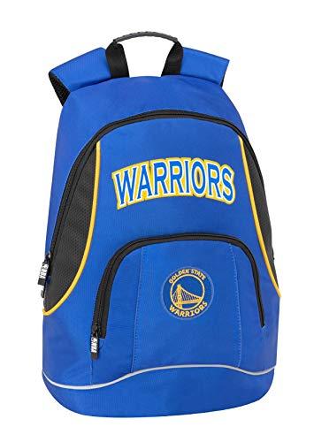 Golden State Warriors NBA Zaino Americano 2 Cerniere - Scuola/Tempo Libero cm 30 x 41h x 17 circa