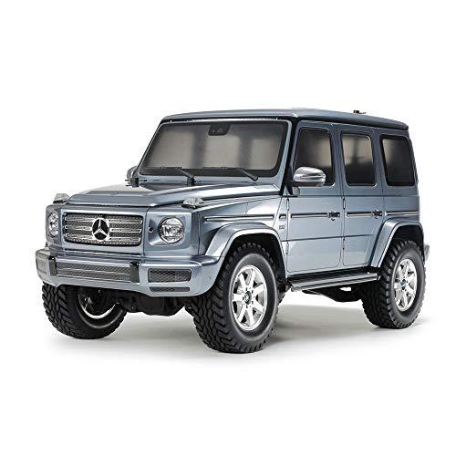 TAMIYA TAM58675 - 1:10 RC MB G-Klasse G500 (CC-02), Bausatz, zum Zusammenbauen, bebilderte Aufbauanleitung, ferngesteuertes Auto/Fahrzeug, Modellbau, Hobby, orginalgetreue Nachbildung, detailliert