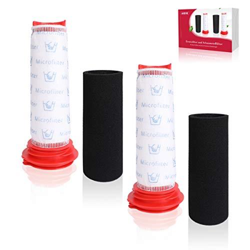 2 pcs Filtro para aspiradora Bosch, 2 pcs filtro de repuesto. Accesorios de filtro de espuma compatibles con el aspirador Athlet Bosch BCH6L2560 BCH6L2561 / Bosch BCH6ZOOO Aspirador ProAnimal Zoo'o