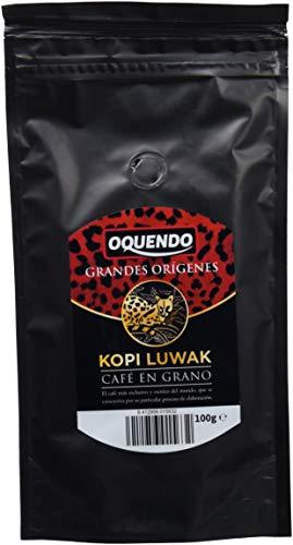 Oquendo - Café en grano Orígenes (KOPI LUWAK) 100 gr