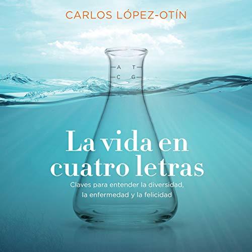 Diseño de la portada del título La vida en cuatro letras