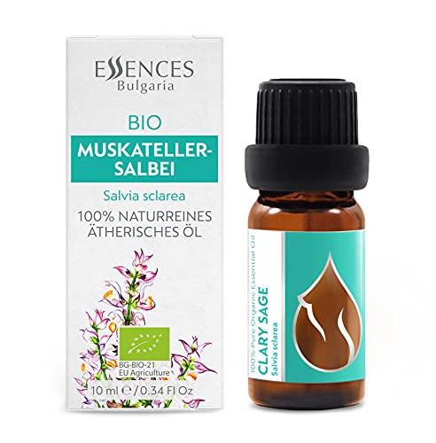 Sauge sclarée (Salvia sclarea) – Huile essentielle 100% naturelle, pure, qualité thérapeutique (10ml)