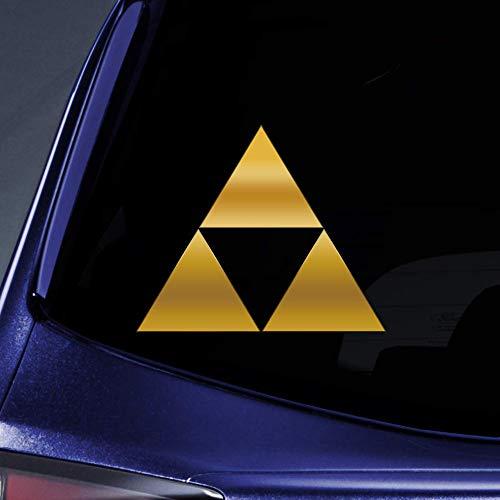 wandaufkleber 3d Wandtattoo Triforce Logo Sticker Aufkleber Notebook Car Laptop 5