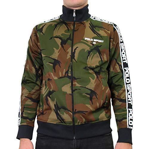 Ralph Lauren Herren Trainingsjacke Camouflage L