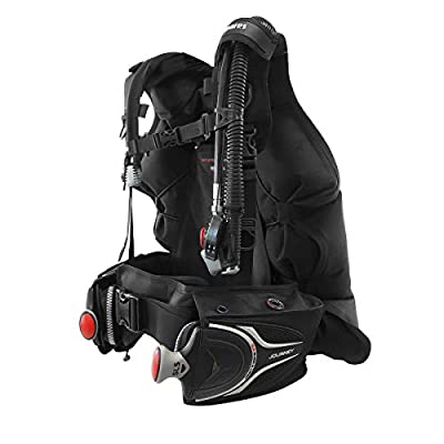 Mares Journey 3.0 Back-Inflation Scuba BCD with Integrated Weight Pockets - Scuba Gear - Scuba Diving BCD BCD Diving - Travel BCD - Dive System BCD - Back Inflation BCD Scuba - Large