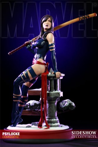 Sideshow Collectibles - Marvel statuette Psylocke Comiquette 43 cm image