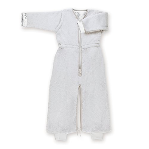 Bemini by Baby Boum 169APAWI90SF Schlafsack mit Jersey Innenfutter 2in1  SOFTY APAWI plum 6-24 m  ,grau