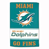 Master Industries Miami Dolphins Sublimated Cotton Towel - 16' x...