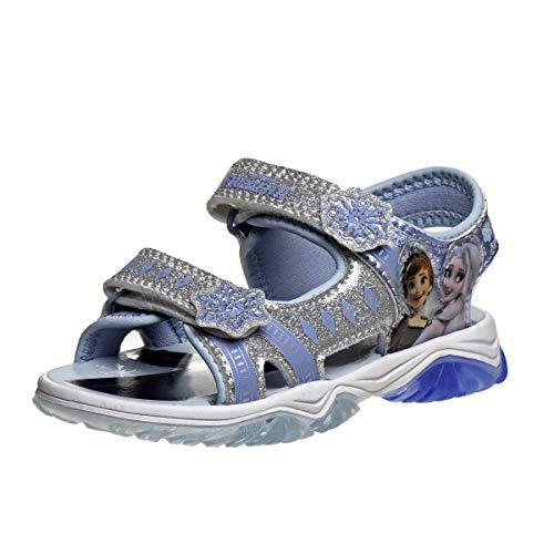 Josmo Girls' Frozen II Water Shoes - Anna and Elsa Princess (Toddler/Little Kid), Size 9 Toddler, Frozen Lite Up