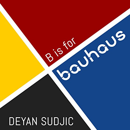 B is for Bauhaus audiobook cover art