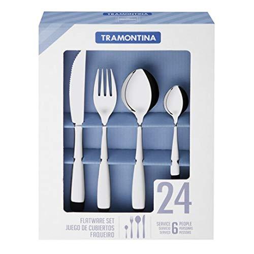 Tramontina Amazonas Knife Fork Spoon 6 Set (24-Piece)