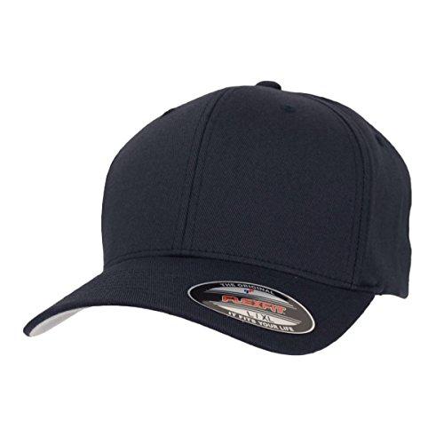 Flexfit Cap Blanko Dark Navy Mütze Kappe Schirmmütze - L/XL
