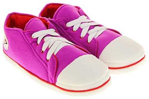 Dunlop Donna Pantofole Sneaker Stivali Rosa EU 36-37