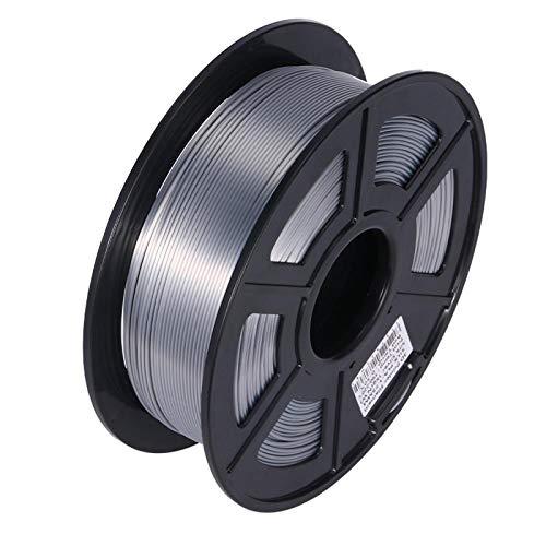 Night K Silk Silver PLA Consumables 3D Printer Consumables Printing Pen Filament Flexible Consumables Accuracy +/- 0.02 mm
