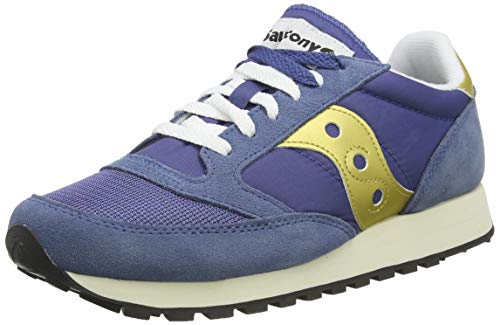 Saucony Jazz Original Vintage, Sneakers Uomo, Blu Nvy Gld 22, 40 EU