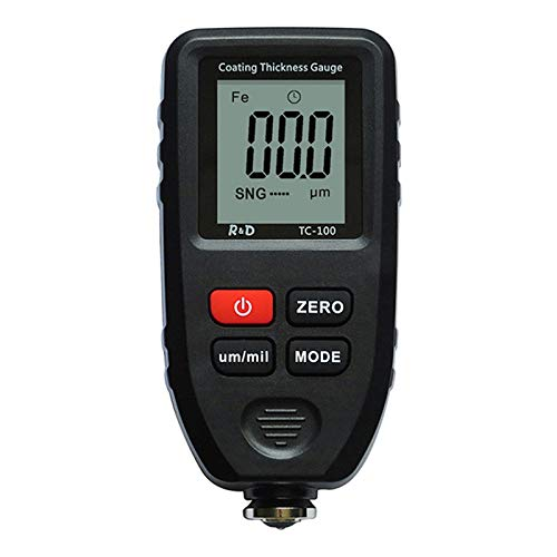 YUZI TC100 Automobile Thickness Gauge Car Paint Tester Thickness Coating Meter Manual Ultra-precise 0.1micron 0-1300