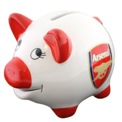 Arsenal F.C. Piggy Bank by Beautifeye