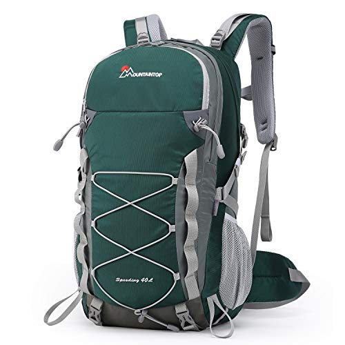 MOUNTAINTOP Hiking Backpack 40liter Trekking Rucksack for Men Women...