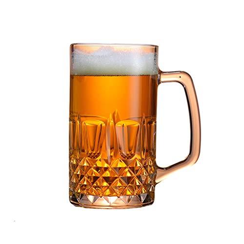 Vaso Taza de Cerveza con Mango Copa de Agua Gigante Gafas de...