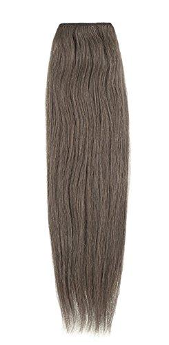 American Dream Remy 100% cheveux humains 35,6 cm soyeuse droite Trame Couleur 10 – Medium Ash Brown