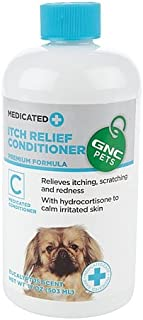 GNC Pets Medicated Itch Relief Conditioner, 17 oz