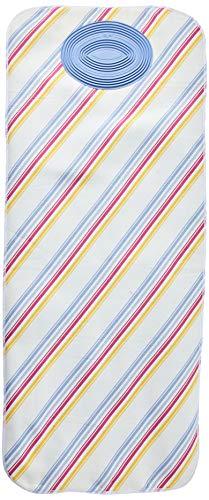 Rayen 6160 Nappe de Protection pour Repasser Coton/Mousse/Tissu de Laine/Silicone Blanc 60 x 140 cm