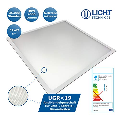 Lichttechnik24® LED Panel UGR