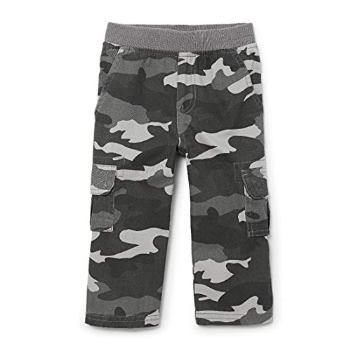 The Children's Place Boys Baby and Toddler Uniform Pull On Chino Cargo Pants, Steamboat, 4T Minnesota