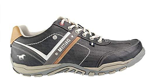 MUSTANG Herren Halbschuhe Grau, Schuhgröße:EUR 49