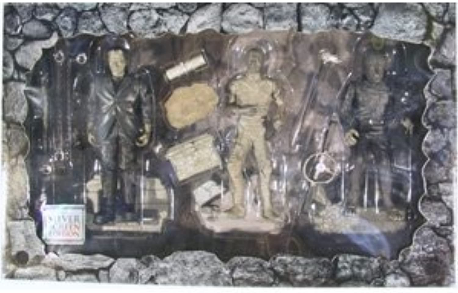 Universal Studios Monsters Silber Screen Edition -Frankenstein, Mummy and Wolf Man by Sideshow by Sideshow