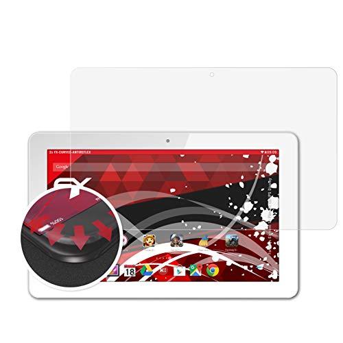 atFolix Schutzfolie kompatibel mit Odys Element 10 Plus 3G HD IPS Bildschirm Folie, entspiegelnde & Flexible FX Bildschirmschutzfolie (2X)