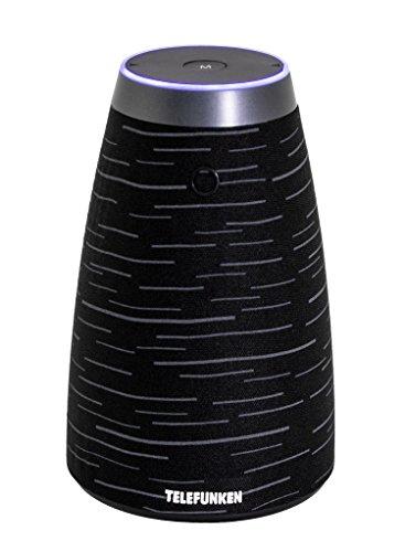 Telefunken WS4000 WiFi und Bluetooth Lautsprecher schwarz