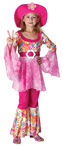 Bristol Novelty- Costume de Diva Hippie, Taille XL, CC909X, Multicolore, x-Large