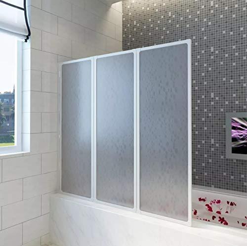 Sichtschutz für Badewanne, mit 3...