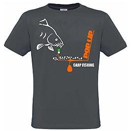 Krazz-Shirtz Carp t-Shirt Homme, t-Shirt carpes, Sweat à Capuche, Carpe, pêche à la Carpe, pêche à la Carpe, Chemise…