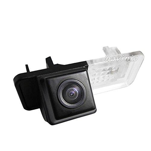 Navinio Auto Nachtsicht Rückfahrkamera Einparkkamera Kamera Einparkhilfe Farbkamera Rückfahrsystem Einparkkamera Wasserdicht für Mercedes Benz Smart R300/R350/ Fourtwo/Smart 451 2007-2012