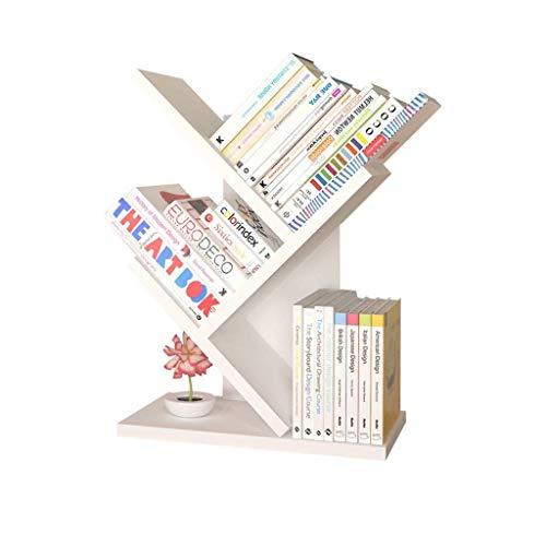 Yxsd bureau-boekenkast eenvoudige decoratieve boekenkast boeken kleine dingen sluitvakken vitrine 48x20x51cm