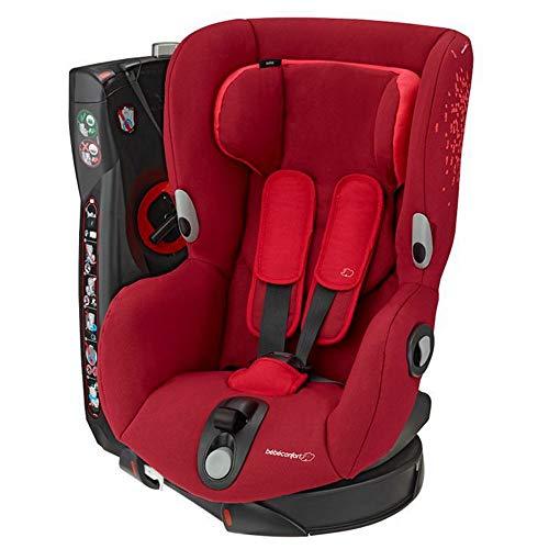 Bébé Confort Siège Auto Pivotant Groupe 1 Axiss, Siège Auto Inclinable, de 9 Mois à 4 Ans, de 9 à 18 kg, Vivid Red