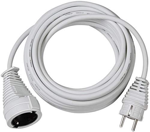 Brennenstuhl cable alargador de corriente de 5 m (alargador eléctrico para interiores)...
