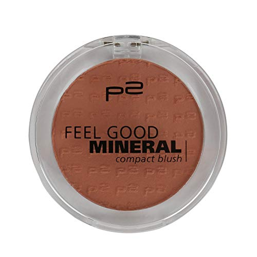 p2 cosmetics Make-up Teint Rouge Feel Good Mineral Compact Blush 035