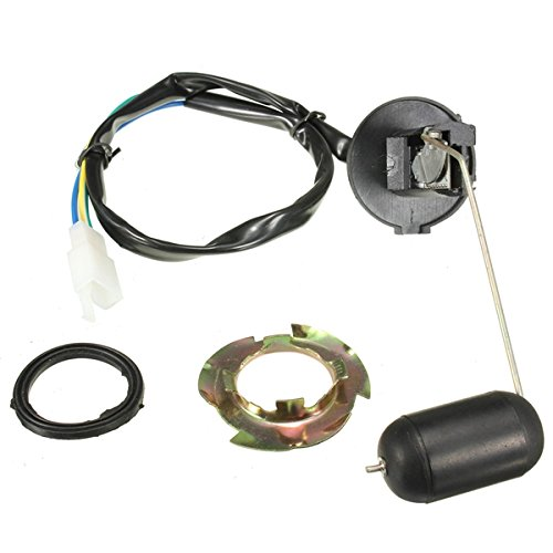 Alamor Unidad De Sensor De Flotador del Nivel De La Gasolina del Combustible Kit del Sensor para El Vehículo De La Vespa De 125-150Cc Gy6