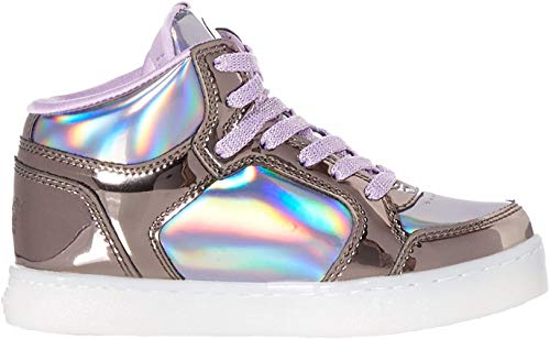 Skechers Energy Lights - Shiny Brights, Zapatillas Altas para Niñas