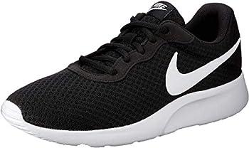 Nike Men s Tanjun Running Sneaker Black/White 11.5
