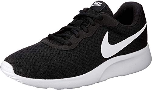 Nike Herren Tanjun Low-Top, Schwarz (011 Black/White), 40.5 EU
